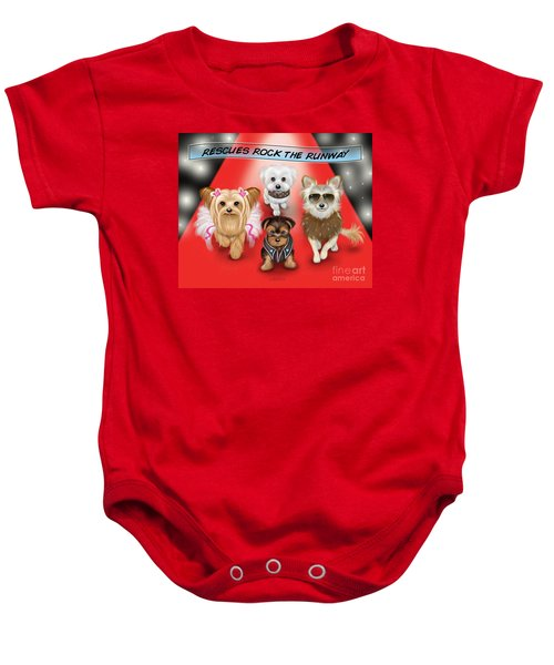 Rescues Rock The Runway Baby Onesie