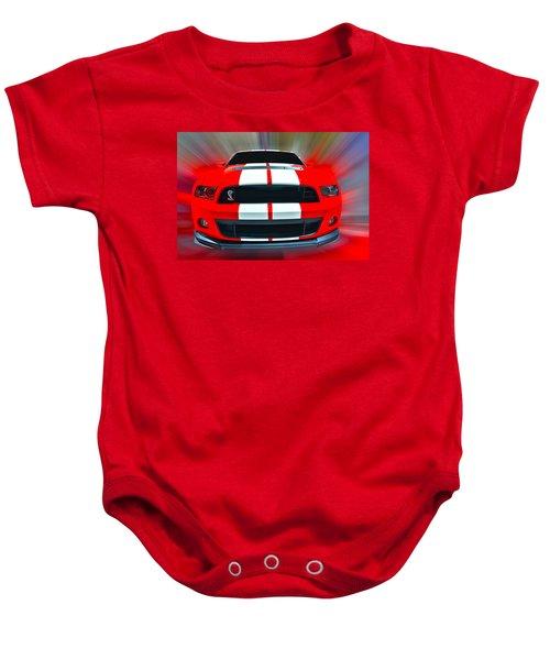Shelby Gt 500  2013 Baby Onesie