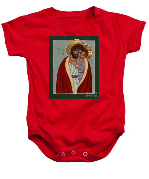 St. Joseph And The Holy Child 239 Baby Onesie