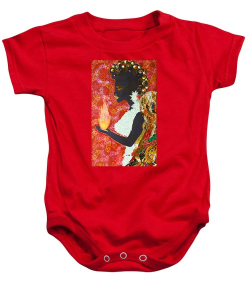 Sun Guardian - The Keeper Of The Universe Baby Onesie