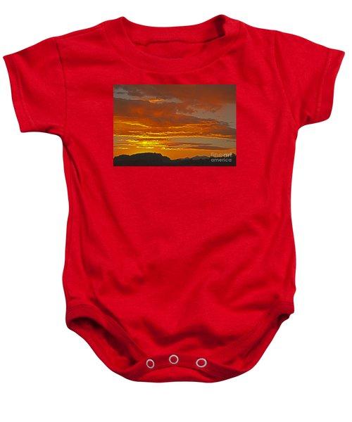 Sunrise Capitol Reef National Park Baby Onesie