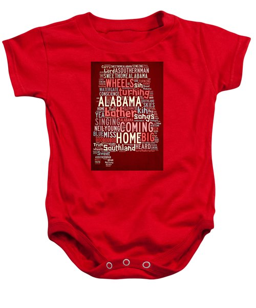 Sweet Home Alabama 4 Baby Onesie