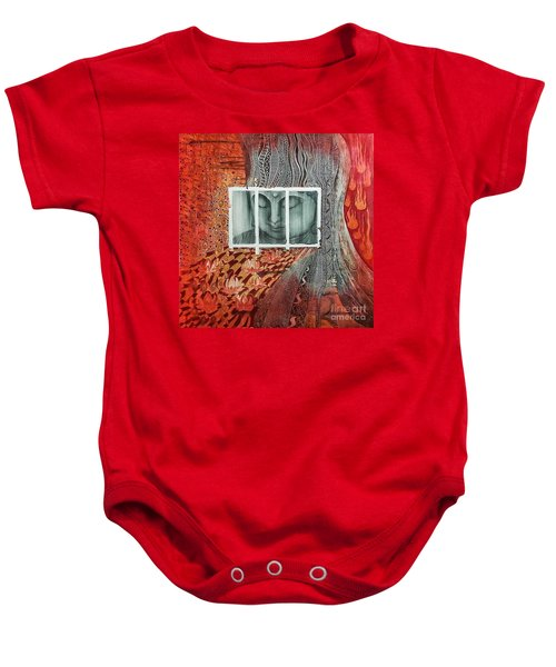 The Buddhist Color Baby Onesie