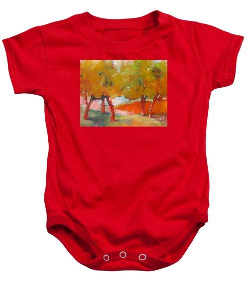 Trees #5 Baby Onesie