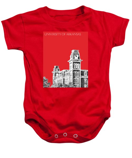 University Of Arkansas - Red Baby Onesie