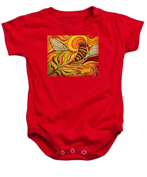 Wings Of Change Baby Onesie