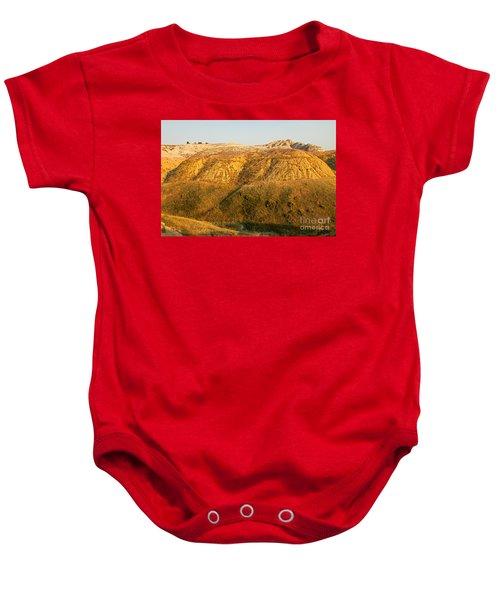 Yellow Mounds Overlook Badlands National Park Baby Onesie