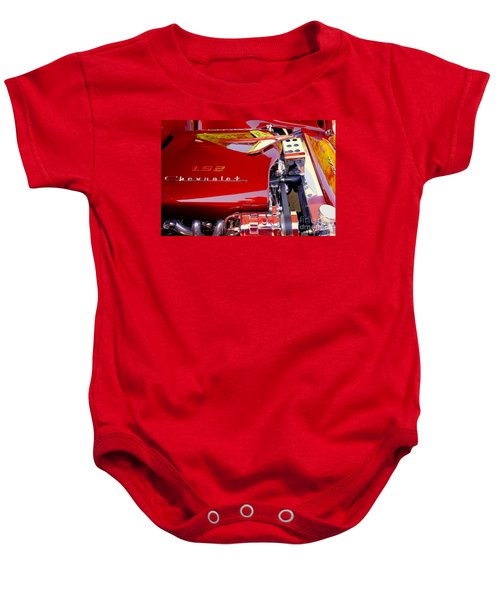 1955 Chevy Bel Air Custom Baby Onesie