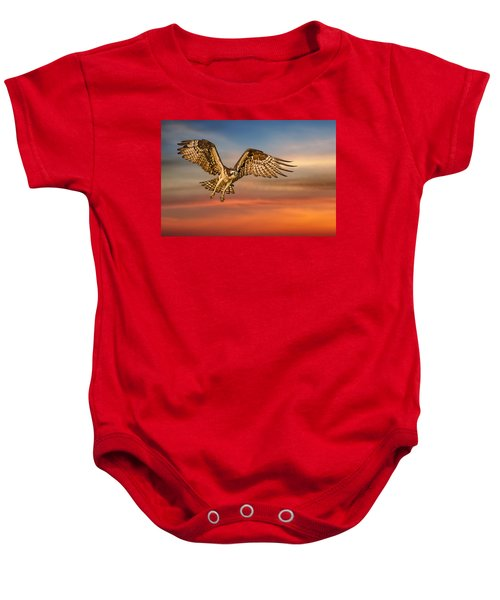 Calling It A Day Baby Onesie by Susan Candelario