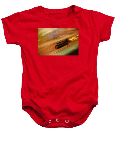 Fast Train Set Baby Onesie