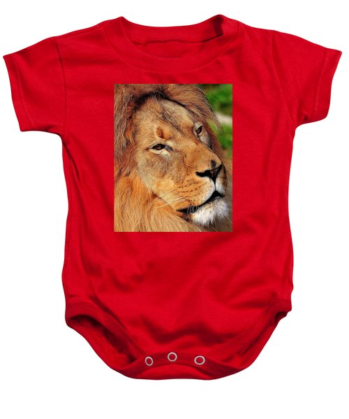 Portrait Of The King Baby Onesie