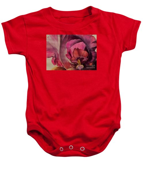 Red Explosion   Sold Baby Onesie