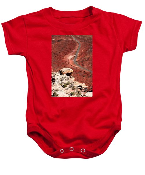 Red Rover Baby Onesie