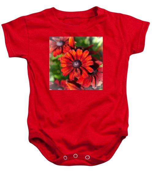 Autumn Flowers Baby Onesie