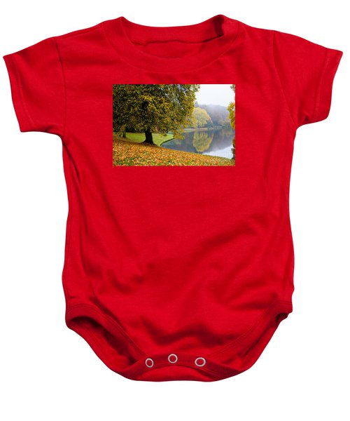 Autumn In The Park Baby Onesie