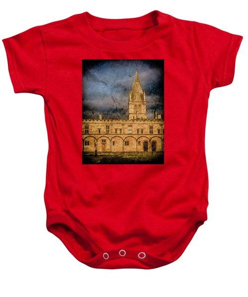 Oxford, England - Christ Church College Baby Onesie