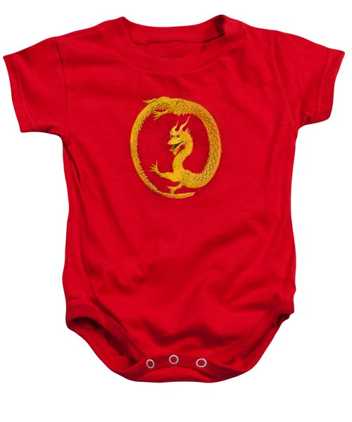 Dragon Circle Baby Onesie