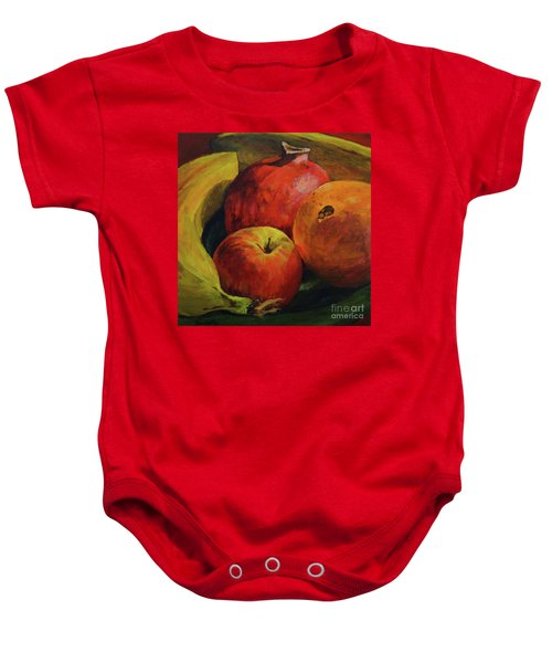 Get Your Snuggle Time Baby Onesie