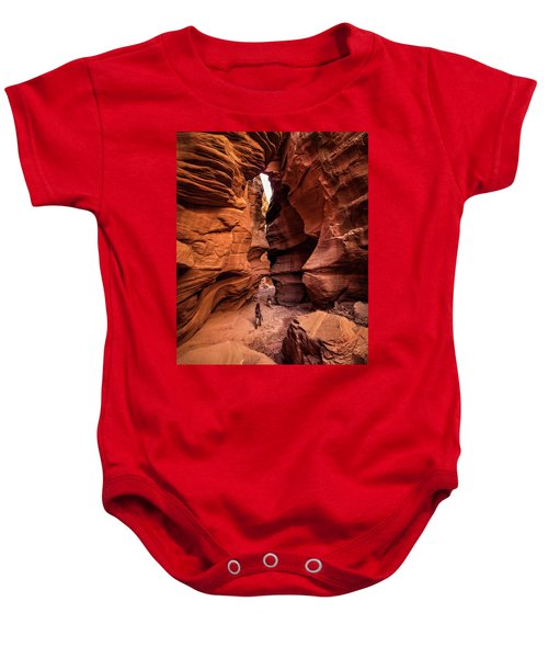 Happy Canyon Baby Onesie