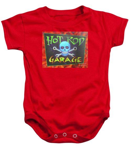 Hot Rod Garage Baby Onesie