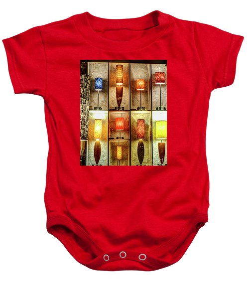1221b Lincoln St. Baby Onesie