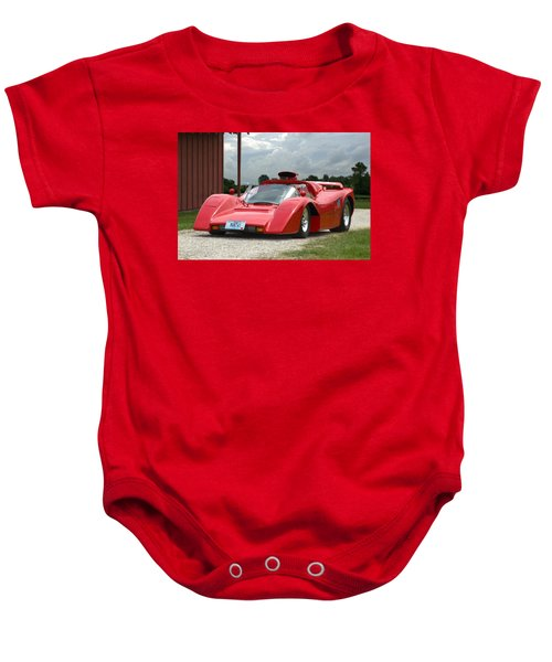 1974 Manta Mirage With Buick 215 Cubic Inch V8 Baby Onesie