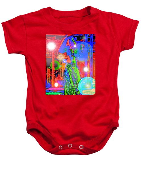 Belly Dance Baby Onesie by Andy Za