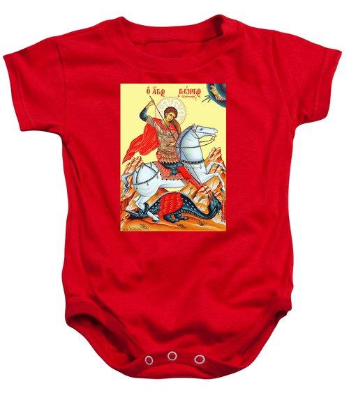 Saint George Baby Onesie