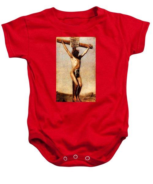 The Crucifixion Baby Onesie
