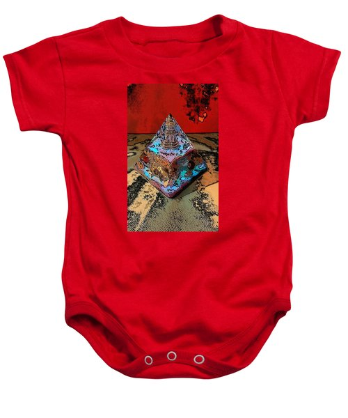 Abstract Orgone Baby Onesie