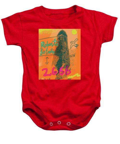 2666 Roberto Bolano  Poster  Baby Onesie