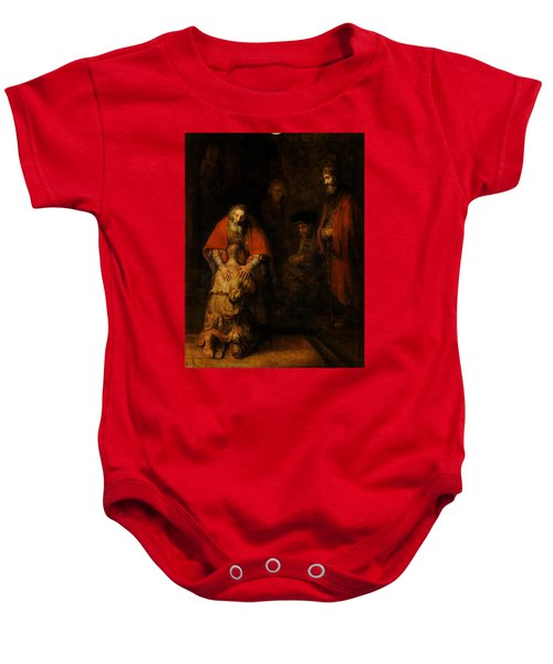 Return Of The Prodigal Son Baby Onesie