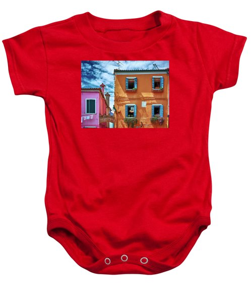 A Fragment Of Color Baby Onesie