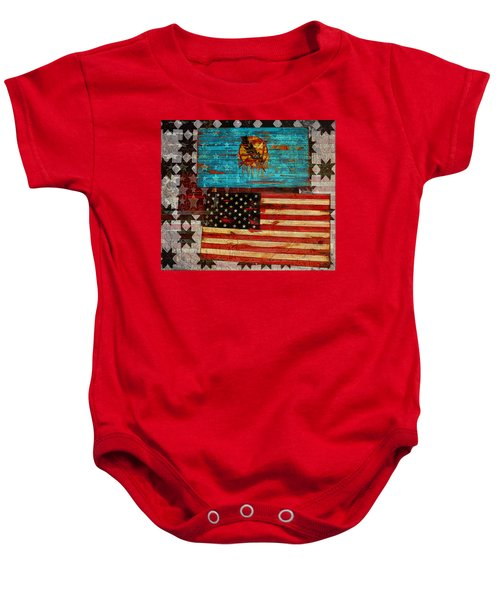 A Good Day In The Usa Baby Onesie