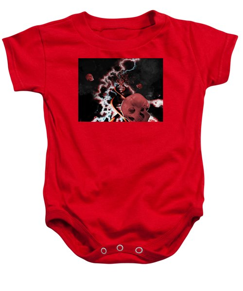 A Hard Rain's A Gonna Fall Baby Onesie