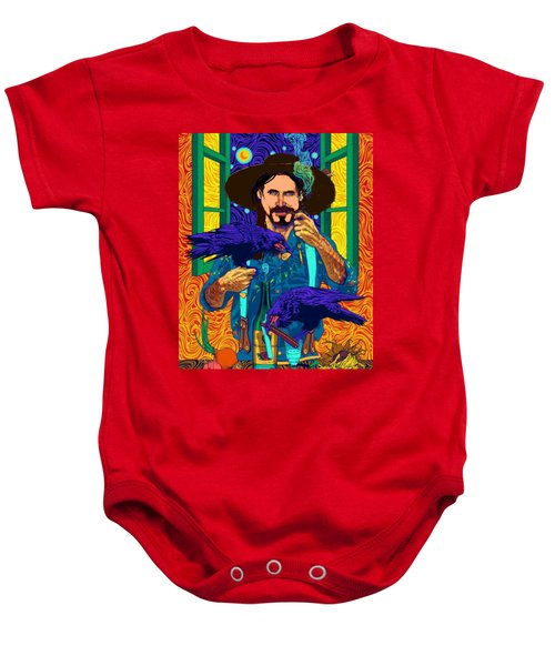 A Life A Of Caw. Portrait Of Stefan Baby Onesie
