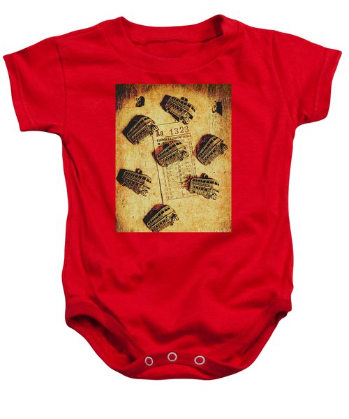 A Return To Old London Baby Onesie