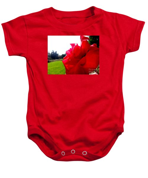 A Rose In The Sun Baby Onesie