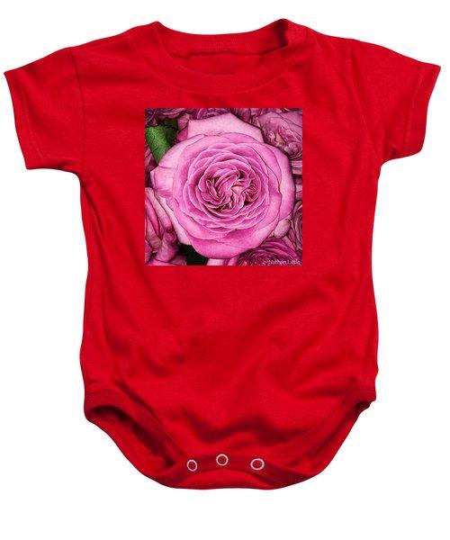 A Thousand Petals Baby Onesie
