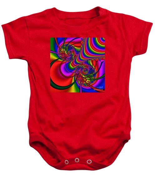 Abstract 511 Baby Onesie