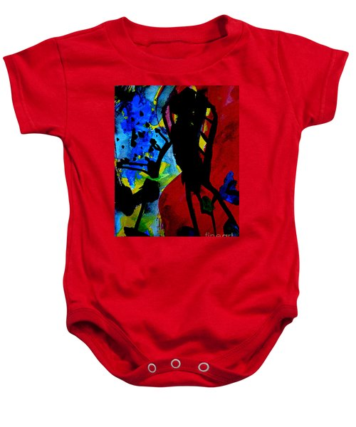 Abstract-7 Baby Onesie