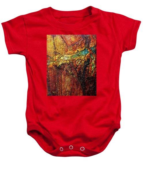 Abstract Rock 2 Baby Onesie
