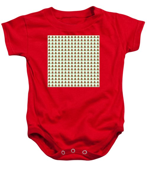 Abstract Square 118 Baby Onesie