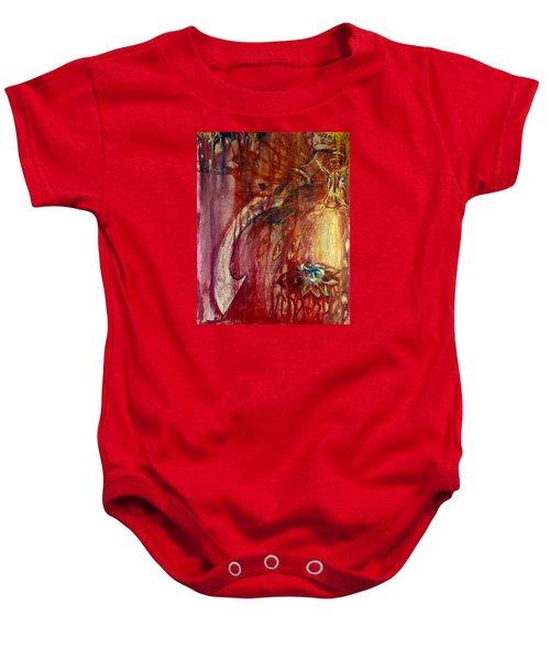 Ace Of Swords Baby Onesie