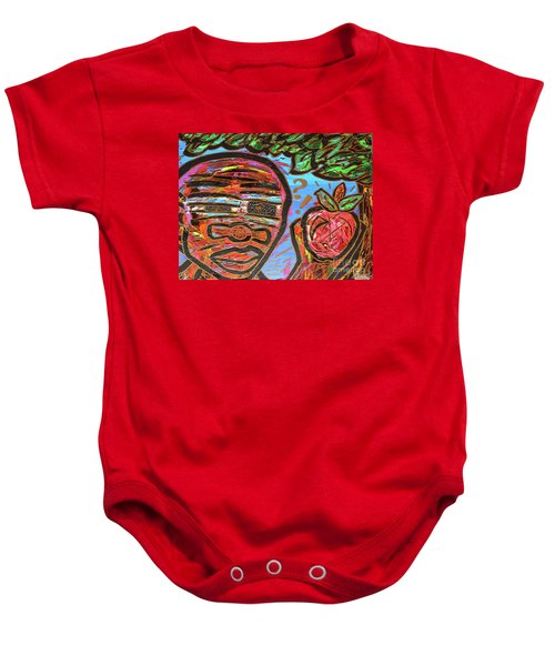 Adam's Apple Baby Onesie