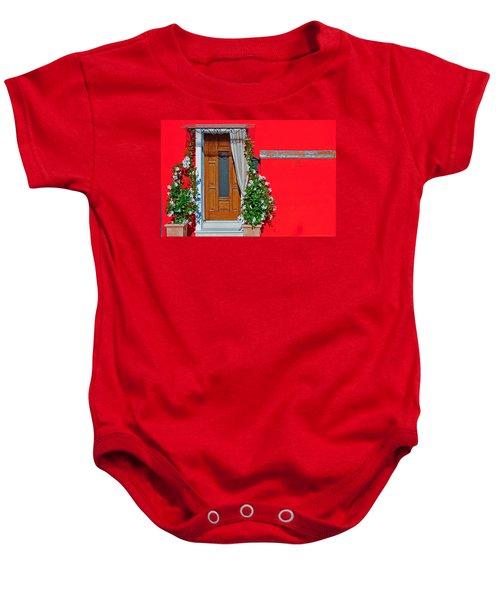A-door-ned Baby Onesie