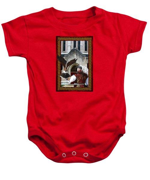 The Falconer Baby Onesie