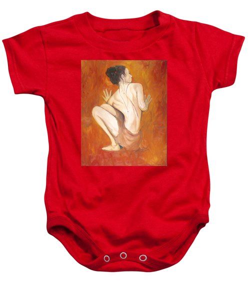 Against The Wall  Baby Onesie
