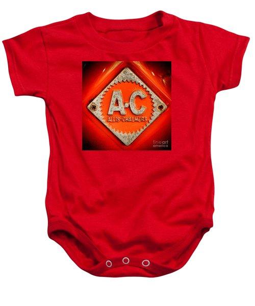 Allis Chalmers Badge Baby Onesie