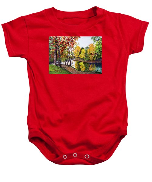 Along The Blanchard Baby Onesie